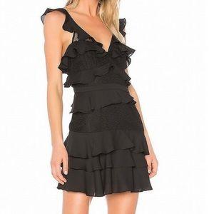 Bardot Babylon Ruffle Lace Dress
